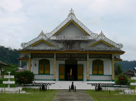 Istana kerajaan Bulungan