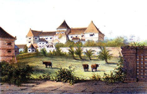 1-taman-sari-pada-tahun-1859-gambar-oleh-c-buddhing