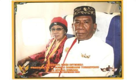Raja Musa Heremba and Ratu Wa Taribu Heremba