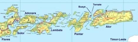 Lokasi Pulau Alor