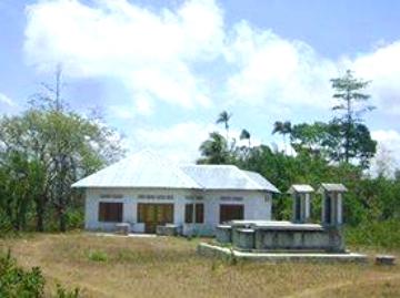 Amanatun, Timor. Istana kerajaan Amanatun