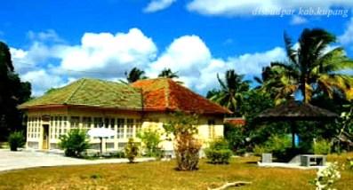 Amarasi, Timor - Istana kerajaan Amarasi.