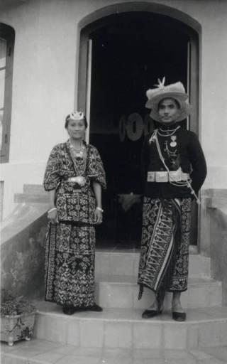 Raja Baa, Joel Simon Kedoh, raja untuk seluruh Rote (1928-1948). Sumber KITLV.