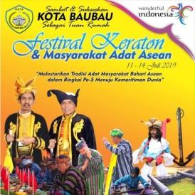 Afbeeldingsresultaat voor Festival Keraton Masyarakat Adat (FKMA) ASEAN IV Po, 11-14 Juli 2019.