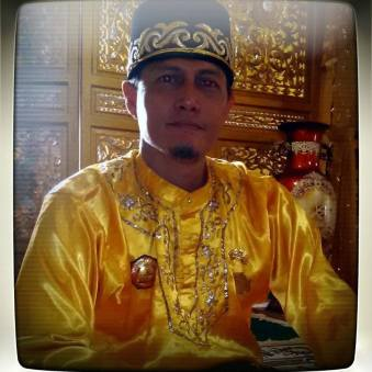 Pontianak, Kalimantan - The new crownprince of the sultan dynasty of Pontianak in West-Kalimantan