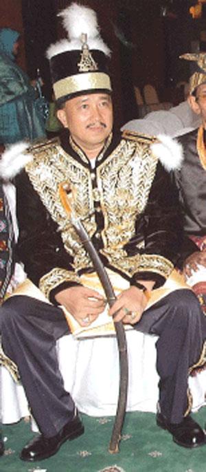 Sultan Aji Raden Muhammad Ayub, Sultan of Gunung Tabur