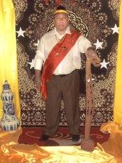 Raja Umis Abdul Hakim Achmad Aituarauw of Kaimana