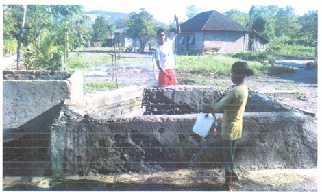 Sumur Wai Butu. Sebuah bantuan Kesultanan Buton untuk Baranusa. (darso arif)