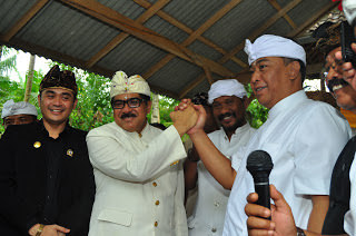 Cokorda (king) Gde Putra Nindia. 2012