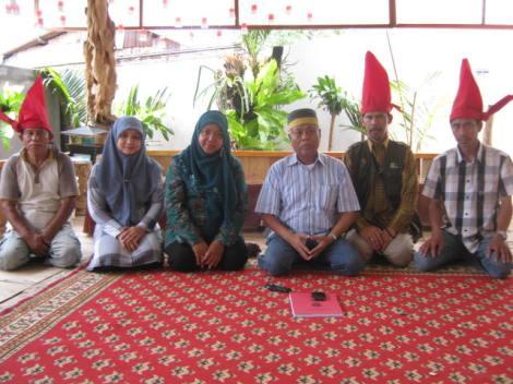 Foto bersama Raja Galesong (2014)