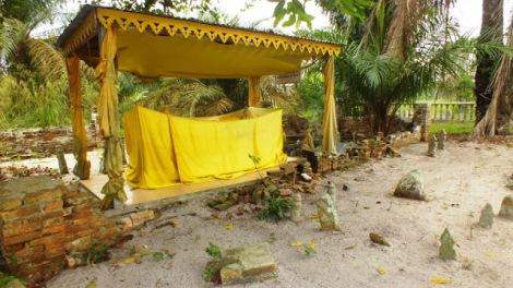 Kuburan dari Datuk Mat Yuda Seri Diraja beserta keluarga dan keturunannya