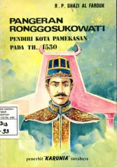 Pangeran Ronggosukowati