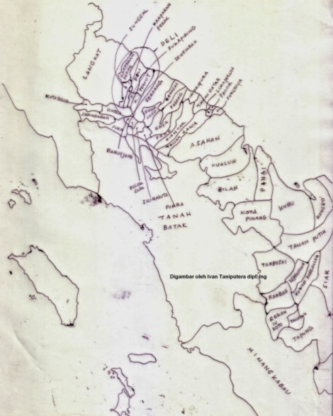 123   Kerajaan-kerajaan wilayah prov. Sumatera Utara sekarang. Abad ke-19