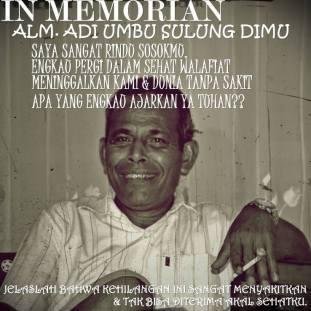 Adi Umbu Sulung Dimu.temp. raja of Anakalang-Sumba 1958-62.--elson sanggar osa