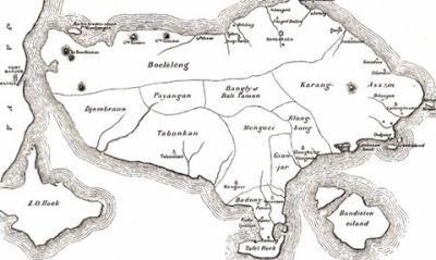 9 Kerajaan di Bali, sekitar tahun 1900.