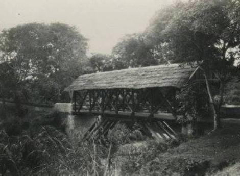 Foto jembatan Lautang Salo Rappang tahun 1905