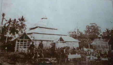 Foto Mesjid Raya Rappang tahun 1905