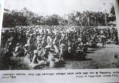 Rappang - Pasar 1905