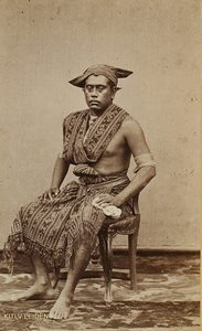 Raja Seba (Sawu) ca. 1870