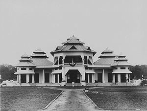 Istana Kota Pinang pada tahun 1931-1934