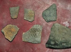 Fragmen tembikar berpola hias. Lintas Gayo Khalissuddin