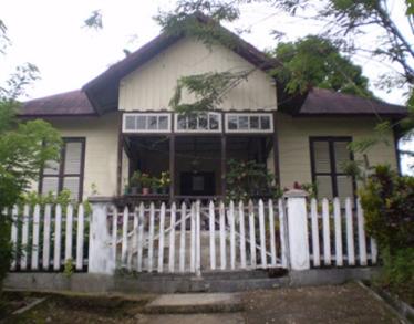 Situs Istana Raja Mori, lokasi Kolonodale.
