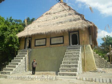 Palace of the datu of Pejanggik on Lombok. - satria wangsa, fb