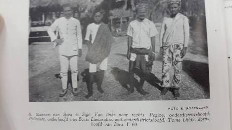 Mohammad Sairin Lamasatu dan Pegiu adalah cucu Magau Sigi, Daeng Masiri. Palindate adalah putra Lamasatu sementara Toma Djidji kemungkinan Toma Djidjimpeluru (Palundate Daeng Masiri)