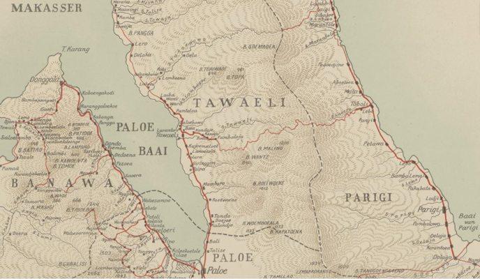 Tawaili, Parigi, Palu, Banawa. 1916