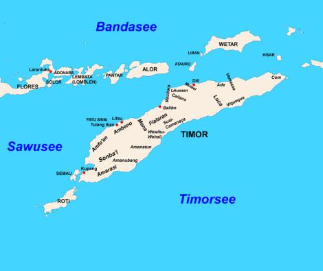Timor, abad ke 17-18