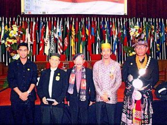 YM Andi Muhhamad Oza Tangunu of Kerajaan Parigi, YM Raja Tayan, YM Umbu Nai Pilla of Masukarera, YM Andi Aspar Arung ididi of Bantayan, YM Don Y Y Kusa ...