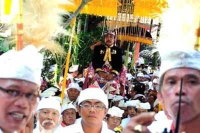 King of Klungkung Ida Dalem Semaraputra (oct. 2010)