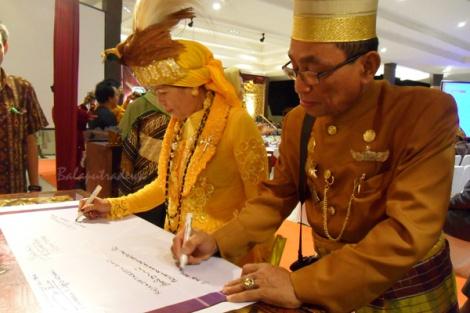 nov. 2010: Festival Keraton Nusantara VII Selamat Datang di Kesultanan Palembang Darussalam