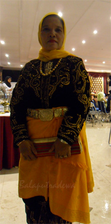 Permaisuri Hj. Helmi Mahera Almujahid dari Kerajaan Karang Tamiang, Aceh Tamiang.