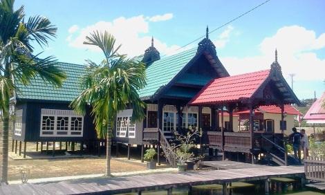 Rumah Baloy, Rumah adat Kerajaan Tidung