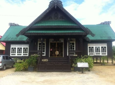Rumah Baloy, Rumah adat Kerajaan Tidung.