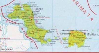 P. Bangka dan P. Belitung