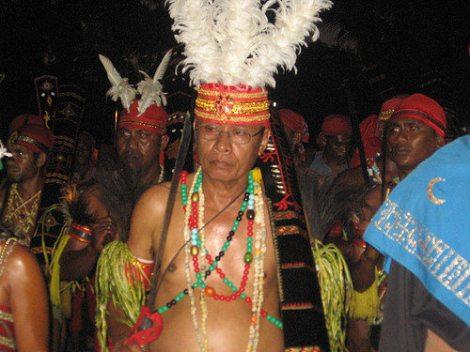 Amahei, Maluku - Raja of Amahei, SW Ceram