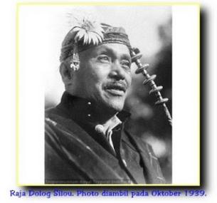 Raja Dolog Silou. Photo diambil pada Oktober 1939.