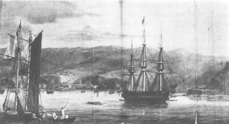 The First Sumatra Expedition the Battle of Quallah Battoo, or Kuala Batee in 1832 (wikipedia)
