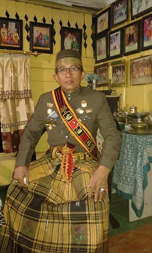 Pemangku Adat Kerajaan Marusu A. Abd. Waris Tajuddin Karaeng Sioja, 2015