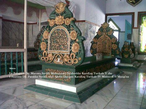 Muhammad Riza, FB - Makam Syeikh Muhammad Salahuddin La Palaguna Dg. Marowa KaraEng Mangento',KaraEng Turikale V