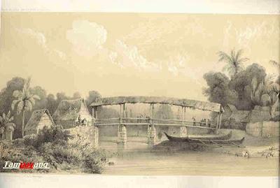 Jembatan Hatukau (Batumerah) Tempo Doeloe