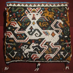 Royal ceremonial betel bag (pahapa), East Sumba, Kingdom of Kapunduk, early 20th century