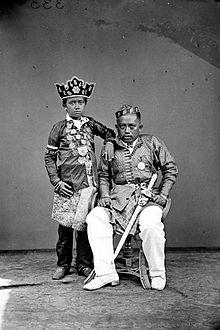 Mandalle - regent Mandalle pada masa Hindia Belanda (1913) Tropenmuseum