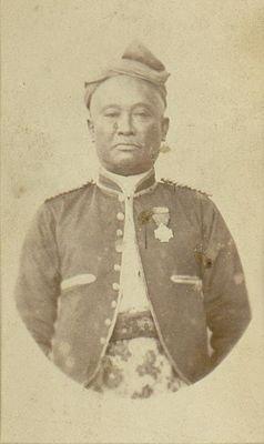 Martapura, Kalimantan - Pangeran Soeria Winata, regent Martapura, Kalimantan.