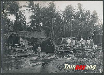 Banjir hancurkan Passo, 1915