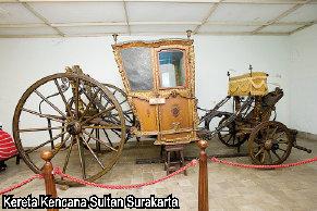 Surakarta. Kereta Kencana Sultan Surakarta