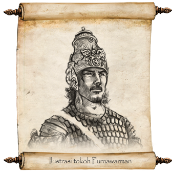 Purnawarman or Purnavarman is the 5th century king of Tarumanagara, a Hindu Indianized kingdom, located in modern day West Java.