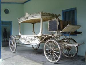 Surakarta. Kereta jenazah - Pakubuwono X